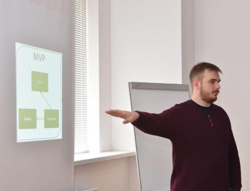 Лекция для учеников школы «IT-decision lab» об основах разработки