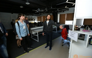 Экскурсия по офису ООО «ФИТ» после мероприятия