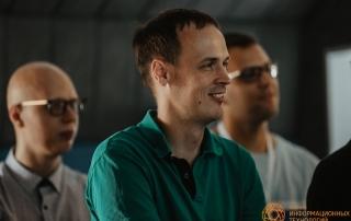 Гость лекции Евгения Батогова