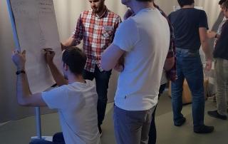Команда разработчиков занимается проектированием