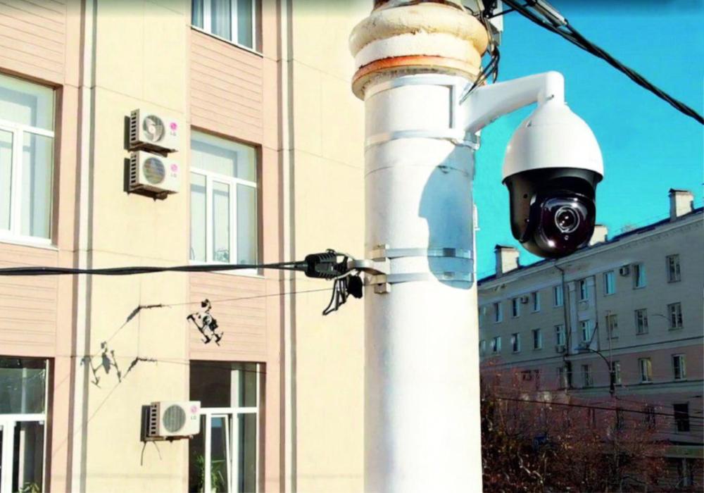 Камера SOVA на улице