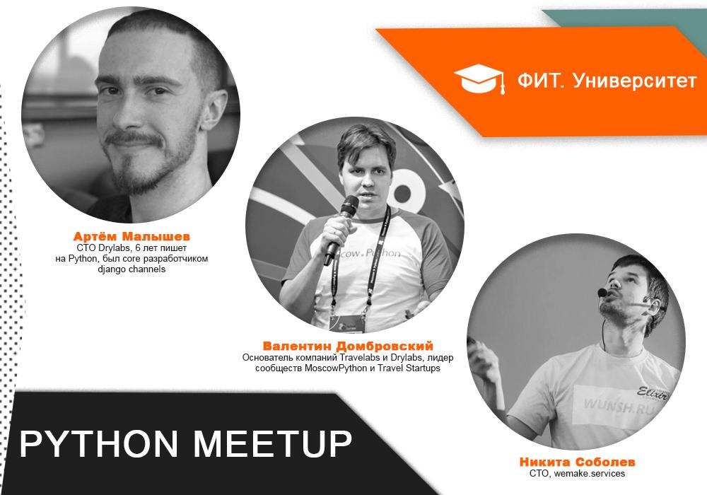 Python Meetup афиша